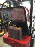 Geschatte 0.8t Lader 08 van het Wiel van het nieuw-Ontwerp 800kg Landbouw Mini met het Systeem van de Controle van de hydraulisch-Druk