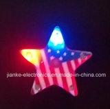 Fördernde LED Blinking Heart Butterfly Pins mit Logo Printed (3161)