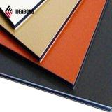 Ideabond RoHS astilla diplomados de aluminio PVDF fachada el panel de pared (AF-408)
