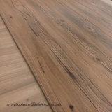 Volta seca de madeira Lvt DIY piso de vinil para Espaço comercial