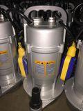 A embalagem do Al. com interruptor de flutuador 1.0HP dirige a unidade submergível da água do uso (QDX1.5-32-0.75)