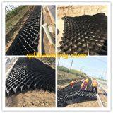 HDPE perfurado Geocells da superfície lisa para a inclinação Solidafication