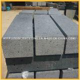 Hainan Black / Gray Basalto Pavimentação / Pedra Curva