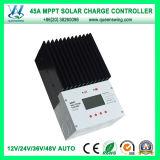 MPPT 45A 12/24/36/48V chargeur du système solaire contrôleur (QW-MT4845A)