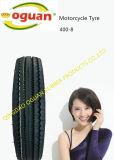 4.00-8 Neumático de la imagen doble por la lámina del policía motorizado del neumático tres del triciclo de Mrf del modelo de la India
