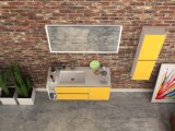 Morden様式の純木の浴室の家具
