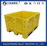 Alta durabilidade grande caixa de paletes de plástico de qualidade para alimentos