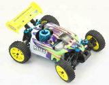 Escala 1/16 de alta calidad modelo RC Nitro coches juguete para niños