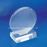 De hoge Transparante Gegoten AcrylTrofee van het Plexiglas