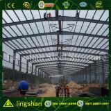 Низкая стоимость и долго Span Сборные стальные конструкции склад
