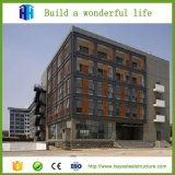 Полуфабрикат высокий план строительных проектов здания стальной рамки подъема