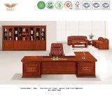 Chapa de madera de teca Muebles de oficina de la Oficina Ejecutiva de la tabla de madera