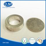 Ímã de anel NdFeB magnético de material magnético sinterizado permanente para motor (DRM-022)