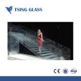 / Antiskid antideslizante vidrio laminado templado para piso/escaleras