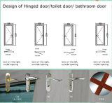 Salle de bains à battants de porte en aluminium de l'intérieur