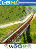 Sistema de transportador curvado interurbano independiente de R y de D