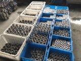 Aço inoxidável Medidas Sanitárias fixada com placa de montagem da Válvula de Esfera