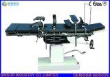 Mesa de operaciones quirúrgica del hospital Radiolucent manual del equipamiento médico de ISO/Ce