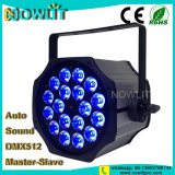 18PCS*10W RGBW 4in1屋内LEDの同価ライト