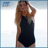 Um pedaço de Lace Up Moda moda praia Bikini para Mulheres