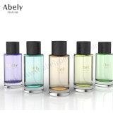 100ml frasco de vidro de perfume de moda para homens e mulheres