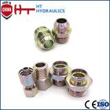 Schlauch-Adapter des Kohlenstoffstahl-hydraulischer Adapter-90 männlicher hydraulischer Grad-Bsp