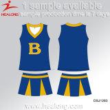 Healong свежий дизайн одежды шестерни Сублимация дамы Cheerleading играет для продажи