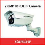 2.0MP Poe IRL Waterdichte IP van de Kogel van de Veiligheid van kabeltelevisie van het Netwerk Camera