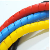 O PVC, de PP, PE PA manga de protecção de borracha do cabo de plástico para máquinas