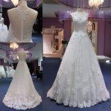 Горячий шнурок сбывания линия выравнивая Bridal платье мантии венчания одевает Mat-118