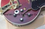 Corpo Claret-Red personalizado guitarra eléctrica com interruptor de 5 direções (TJ-233)