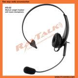 Luva do único-0235 RHS auscultadores para comunicação de rádio bidirecional