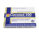 Tablet Cipromed 500mg Medicina BPF