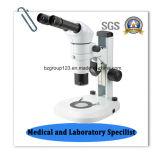 Microscoop van het LEIDENE Laboratorium van het Gezoem de Stereo