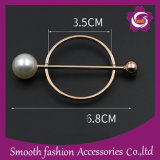 卸し売り方法スカーフのバックルの真珠の装飾的な針ボタンPinのブローチの衣服のアクセサリ