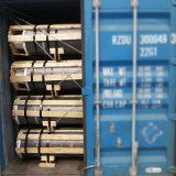 Elettrodi di grafite del carbonio dell'HP UHP del NP del coke dell'ago utilizzati per il forno ad arco elettrico