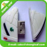 昇進(SLF-RU001)のための流行のカスタマイズされたゴム製USBのフラッシュ駆動機構