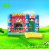 Замороженные Эльса надувной замок с прыгающими мячами Bouncer слайд
