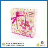 Weißer Luxuxträger-Beutel für das Einkaufen (GJ-Bag063)