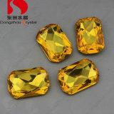 Piedras joyería Esmeralda octágono de talla cojín Peridot cristalina cúbica