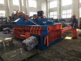 Resíduos hidráulico comprimir e máquina de embalagem de metal