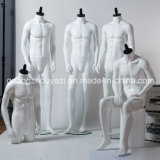 Yazi Fiberglass Male Mannequin с Changeable Face