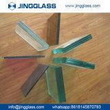 6.38mm Verde Vidrio Laminado de color templado a prueba de balas de vidrio laminado