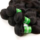 Os fabricantes e os fornecedores do cabelo humano tecem a onda peruana do corpo do cabelo do Virgin