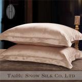Funda de almohada 100% de la seda de mora de la seda de la nieve de Taihu con bordado