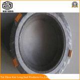 Guarnizione della ferita di spirale della grafite del metallo; Guarnizione del rivestimento del metallo della grafite di alta qualità; Guarnizione, guarnizione a spirale della ferita, guarnizione di Asbetos, guarnizione unita dell'anello