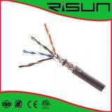 Cable de interior del precio de fábrica 4pairs SFTP Cat5e