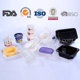 Cajas de embalaje disponibles, rectángulos de almuerzo respetuosos del medio ambiente de los PP, envase de alimento