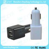 Заряжатель автомобиля выхода USB двойного порта с логосом (ZYF9108)
