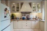 Gabinete de cozinha Home de madeira Yb1709178 da mobília do projeto clássico